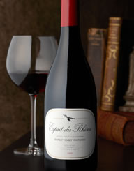 Esprit du Rhone Wine Label and Package Design Thumbnail