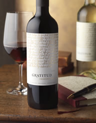 Gratitud Wine Label and Package Design Thumbnail