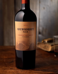 Gunsight Rock Wine Label and Package Design Thumbnail