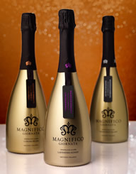 Magnifico Giornata Sparkling Wine Label and Package Design Thumbnail