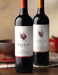 Fogo Wine Label and Package Design Combo Thumbnail