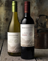 Berryessa Gap 2 Wine Label and Package Design Thumbnail
