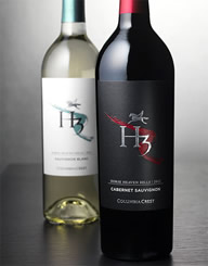 H3 Wine Label and Package Design Thumbnail