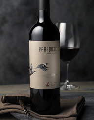 Paraduxx_Z Wine Label and Package Design Thumbnail