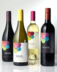 Seven Daughters Wine Label & Packaging Design Thumbnail