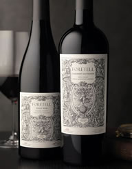 Foretell Label and Package Design Thumbnail