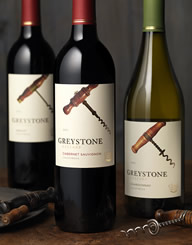 Greystone Wine Label and Package Design Thumbnail