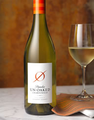 Pamelas Unoaked Chardonnay Wine Label and Package Design Thumbnail