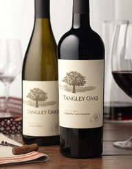Tangley Oaks Label and Package Design Thumbnail