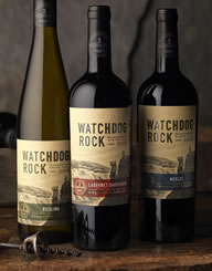 Watchdog Rock Label and Package Design Thumbnail
