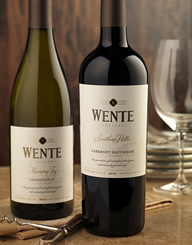 Wente Wine Label and Package Design Thumbnail