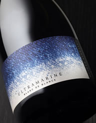 Ultramarine Wine Label and Package Design Thumbnail